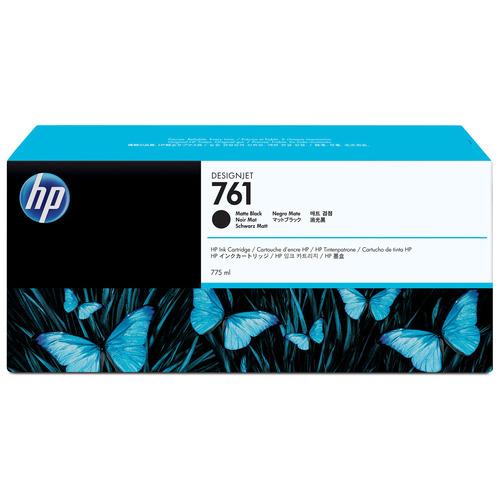 hp(ヒューレット・パッカード):HP761 インクカートリッジ マットブラック 775ml 顔料系 CM997A 1個 0361972