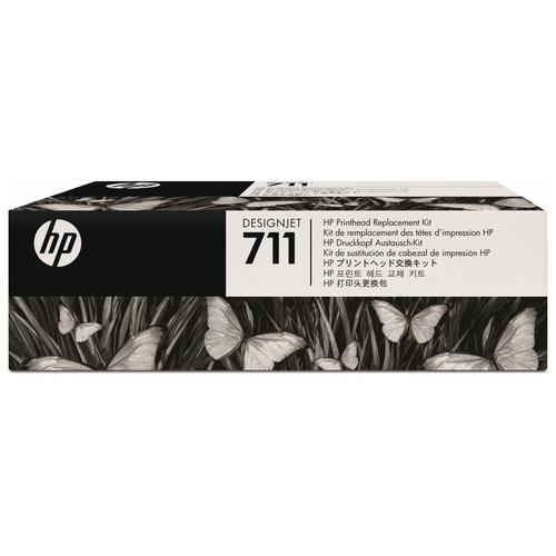 hp(ヒューレット・パッカード):HP711 プリントヘッド交換キット C1Q10A 1個 0365260