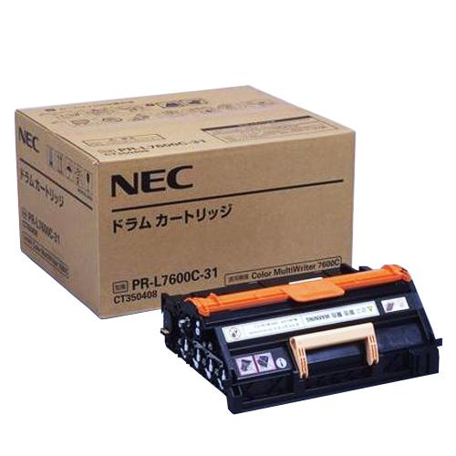 【代引不可】NEC(日本電気):ドラムカートリッジ PR-L7600C-31 1個 1276312