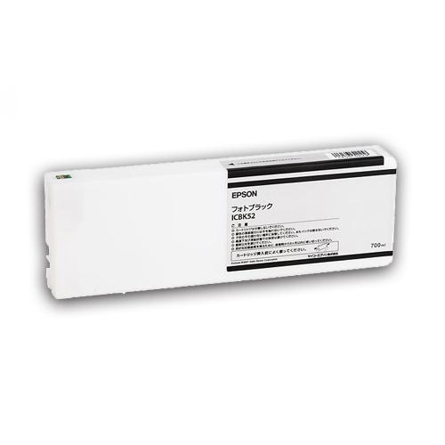 EPSON(エプソン):PX-P/K3(VM)インクカートリッジ フォトブラック 700ml ICBK52 1個 2222226