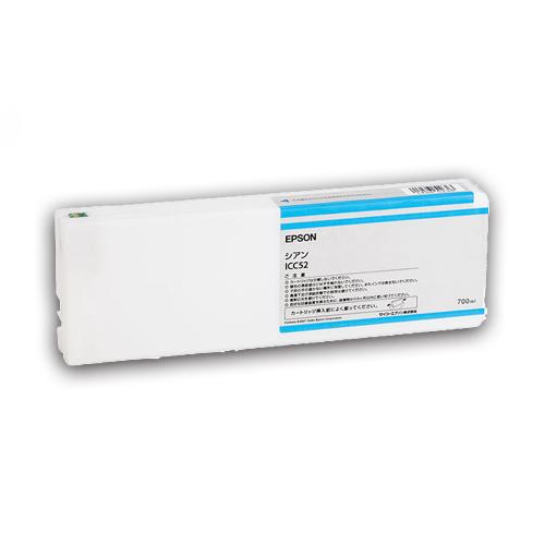 EPSON(エプソン):PX-P/K3(VM)インクカートリッジ シアン 700ml ICC52 1個 2222233