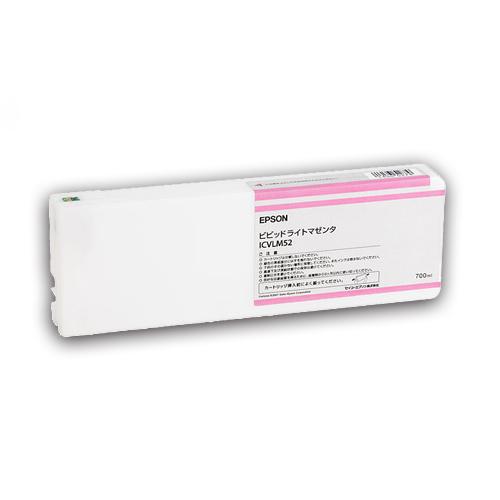 EPSON(エプソン):PX-P/K3(VM)インクカートリッジ ビビッドライトマゼンタ 700ml ICVLM52 1個 2222271