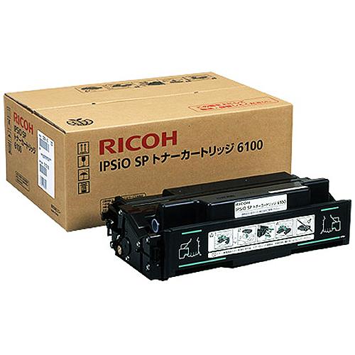 【代引不可】リコー:IPSiO SP ECトナーカートリッジ 6100 308677 1個 2284927