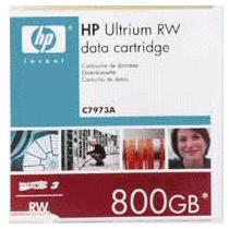 HP(COMPAQ):HP LTO3 Ultrium 800GB RWデータカートリッジ 400GB/800GB C7973A 1巻 1263794