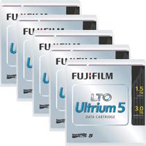 富士フイルム:LTO Ultrium5 データカートリッジ バーコードラベル(横型)付 1.5TB LTO FB UL-5 OREDPX5Y 1パック(5巻) 3222454