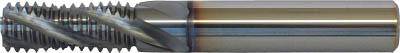 グーリング 超硬ソリッドスレッドミーリングカッター オイルホール穴付(1本) 3737 14.000 4110692