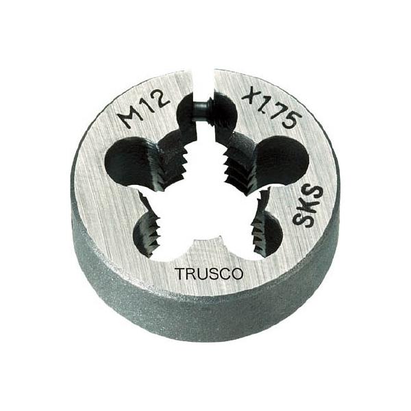 TRUSCO 丸ダイス 63径 M27×3.0 (SKS)(1個) T63D-27X3.0 7682131