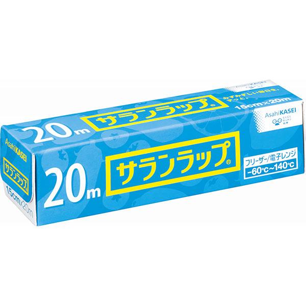 【代引不可】旭化成:サランラップ[15cm×20m]×60本 10001690