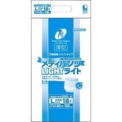 近澤製紙所:メディパンツライト L18枚入り×4袋