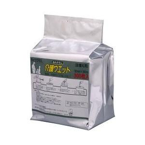 近澤製紙所:ライフプラス ぬれタオル介護ウェット バケツタイプ詰換用(300枚入)×4個 4989850510111