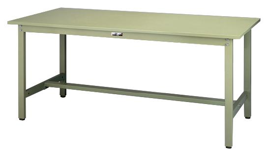 【代引不可】【法人限定】山金工業:YamaTec ワークテーブル300シリーズ 固定式H740mm SWS-1590-GG