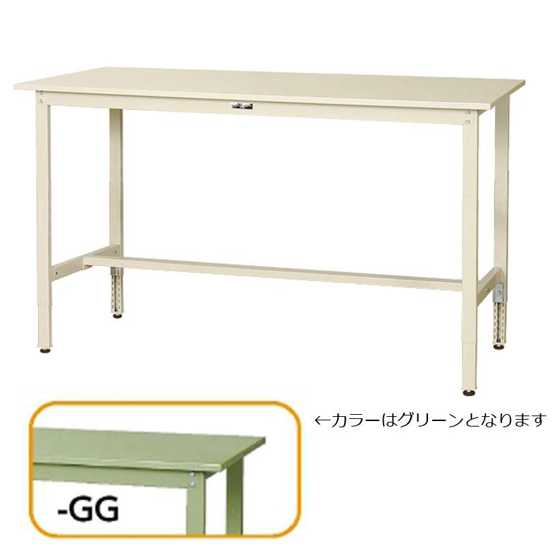 【法人限定】山金工業:YamaTec ワークテーブル300シリーズ 高さ調整タイプH900~H1200mm SWSAH-1860-GG
