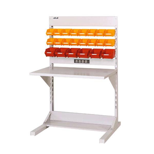 【代引不可】【法人限定】山金工業:YamaTec ラインテーブル W900サイズ片面単体 HRK-0913-YC