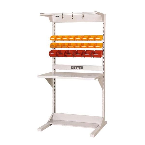 【代引不可】【法人限定】山金工業:YamaTec ラインテーブル W900サイズ片面連結 HRK-0918R-FYC