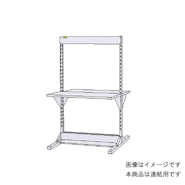 【法人限定】山金工業:YamaTec ラインテーブル 基本形 W1200サイズ両面連結 HRR-1218R