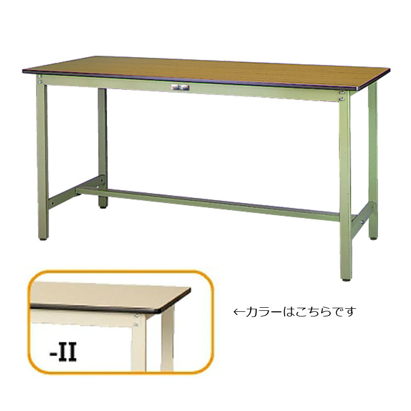 【代引不可】【法人限定】山金工業:YamaTec ワークテーブル500シリーズ 固定式H900mm SJMH-1260-II