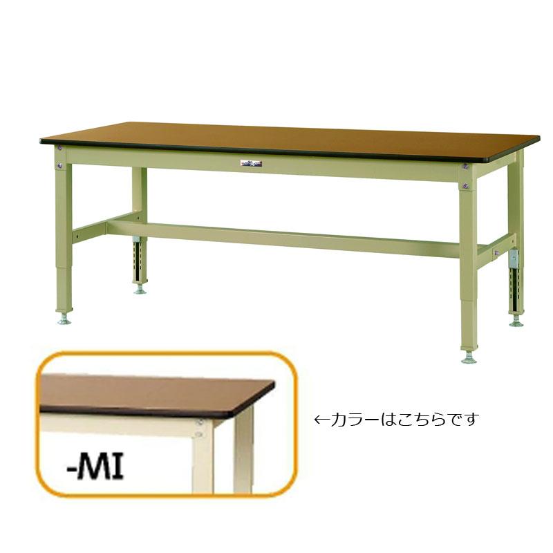 【法人限定】山金工業:YamaTec ワークテーブル800シリーズ 高さ調整タイプH600~H850mm SVMA-1275-MI