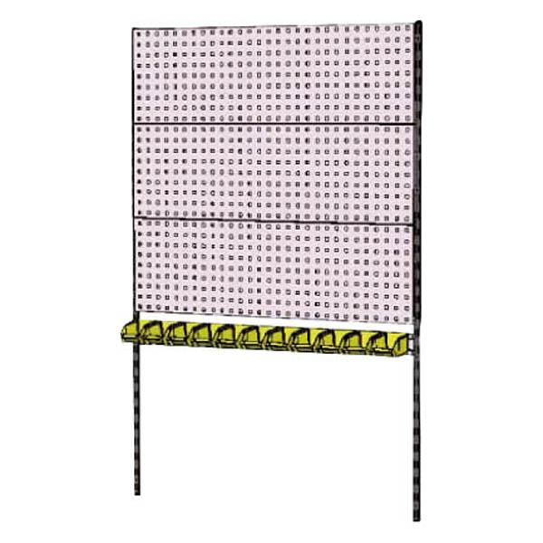 【代引不可】【法人限定】山金工業:YamaTec 壁面ハンガーパネルシステム W1200タイプ 単体 WH-1218-P3Y