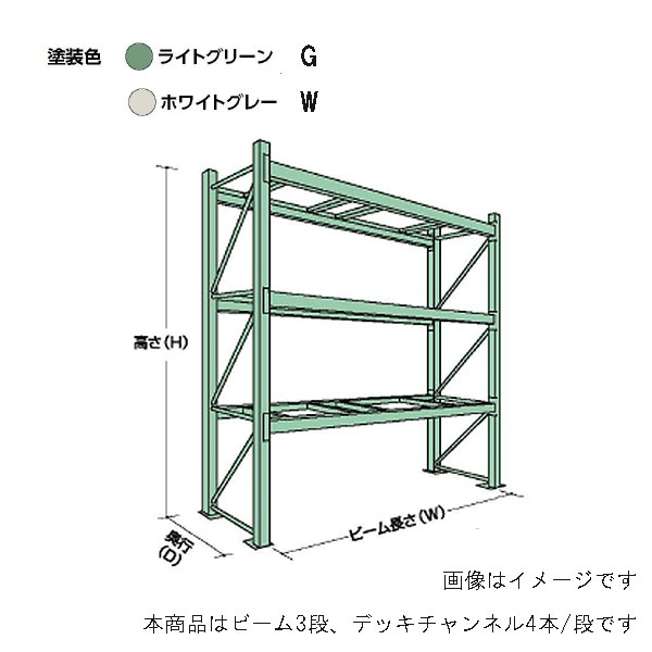 【代引不可】【受注生産品】山金工業:YamaTec パレットラック 10S362312-3G