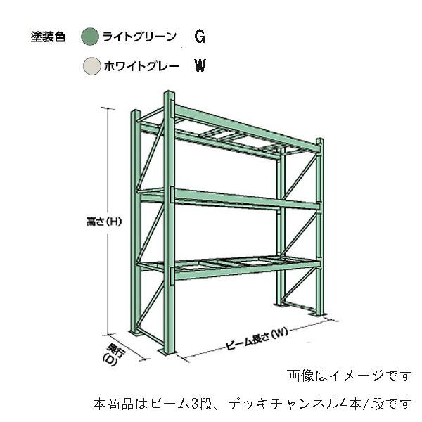【代引不可】【受注生産品】山金工業:YamaTec パレットラック 20S363012-3G