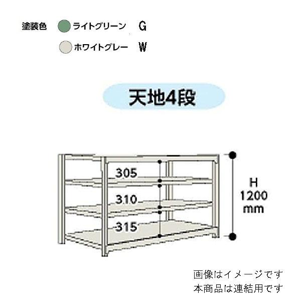 【法人限定】山金工業:YamaTec ボルトレス中量ラック 5S4691-4WR