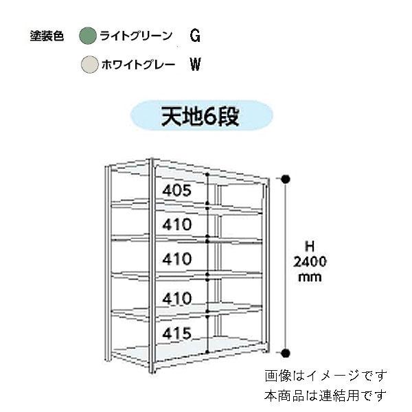 【代引不可】山金工業:YamaTec ボルトレス中量ラック 5S8691-6GR