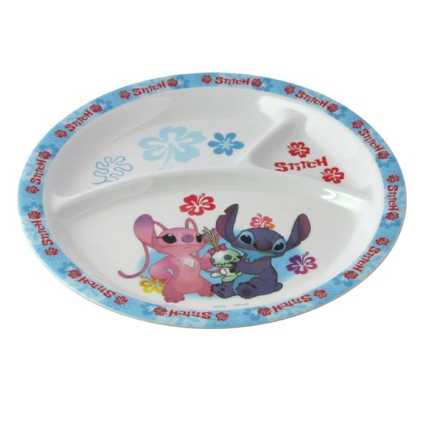 丈夫で安心 税込 清潔 メラミン食器 メラミンランチ皿メラミンランチプレート いよいよ人気ブランド メラミンプレート ディズニースティッチ