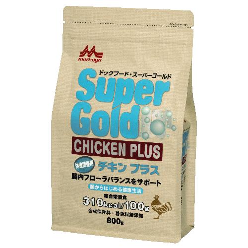 スーパーゴールド チキンプラス 体重調整用【800g】