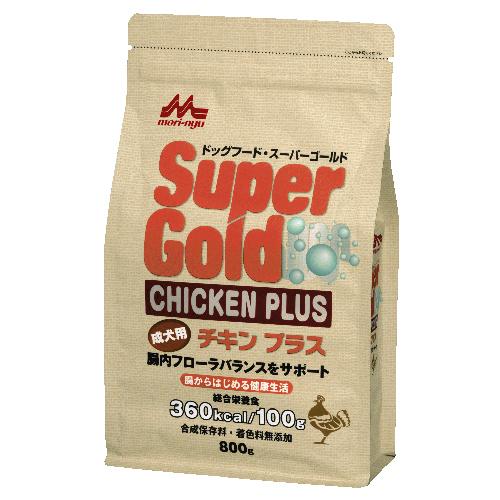 スーパーゴールド チキンプラス 成犬用【800g】