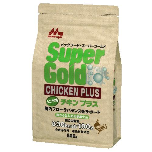 スーパーゴールド チキンプラス シニア犬用【800g】