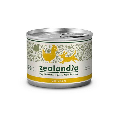 【Zelandia】ジーランディア ドッグ チキン 缶詰 【185g】