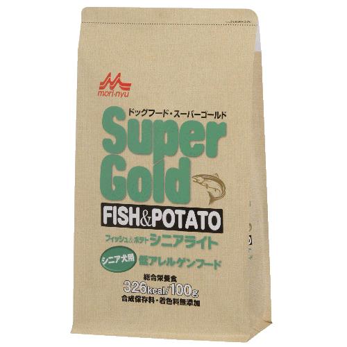 スーパーゴールド フィッシュ&ポテト シニアライト【7.5kg】