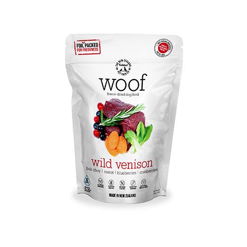 【WOOF】 フリーズドライドッグフード ワイルドベニソン 【50g】