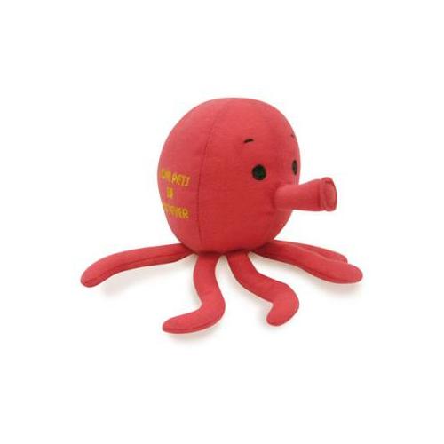 音が鳴る くわえたくなるかわいいペットおもちゃ☆ Bestever ふるさと割 限定タイムセール ベストエバー オクトパスのおもちゃ