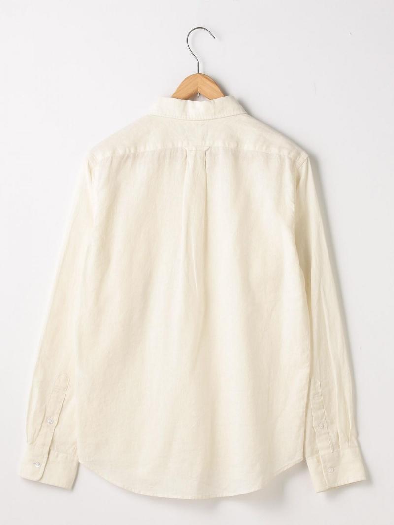 2e1ad757291183 [Rakuten BRAND AVENUE] cotton hemp chambray button-down shirt coen Cohen  shirt / blouse