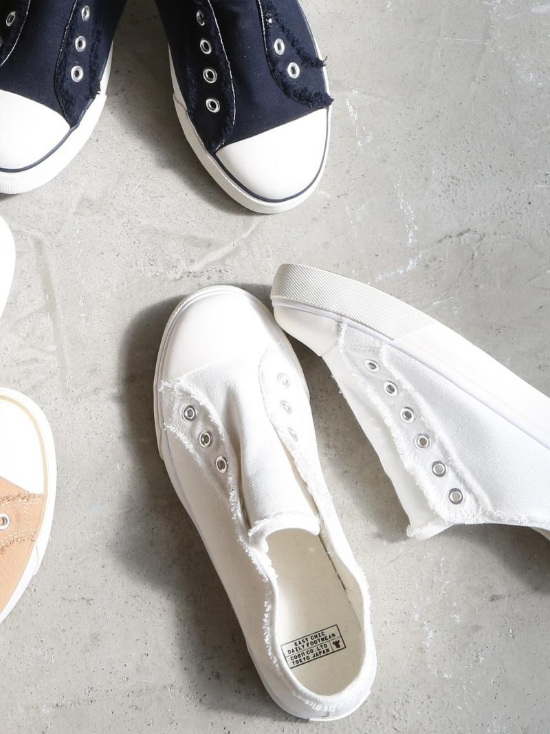 Rakuten BRAND AVENUE Canvas Slip Ons Sneakers Coen Cohen Shoes