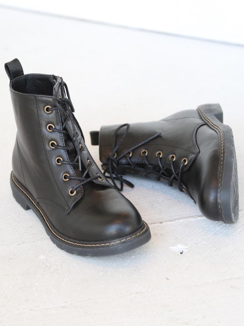 Rakuten BRAND AVENUE6 Hall Race Up Boots Bootie Coen Cohen Shoes