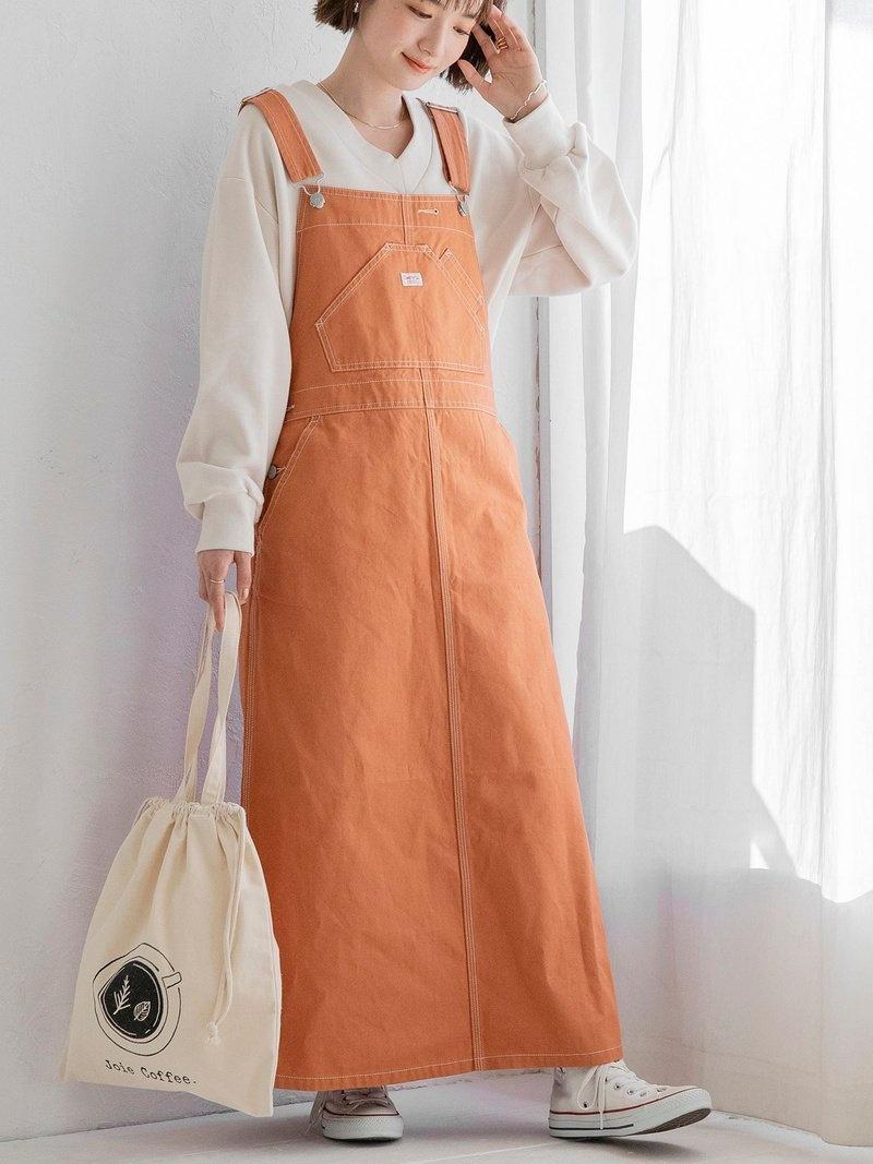 coen_more20 信憑 coen_0402 coen レディース スカート コーエン SALE 58%OFF SMITH'S ブラウン Fashion セットアップ対応 スミス 別注ジャンパースカート Rakuten RBA_E ジャンパースカート ホワイト ラッピング無料