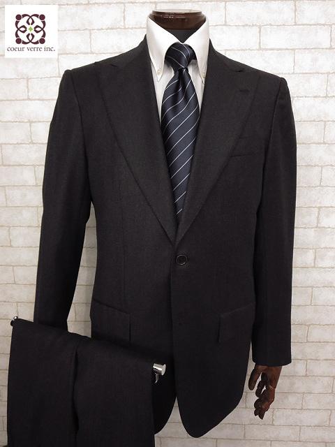 超美品 【キートン KITON】 CIPA1960モデル スーツ (メンズ) ピークドラペルsize48 リデア正規品 チャコールグレー ナポリ仕立て◯MS1831◯ 【中古】