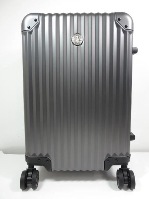 未使用 【メルセデスベンツ Mercedes Benz】 オリジナル スーツケース 32L 機内持ち込み可能♪ (メンズ レディース) ブロンズ ★SC0095★【中古】