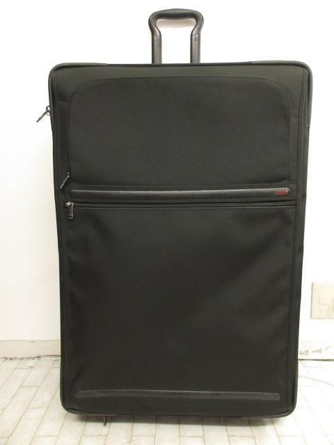 【トゥミ TUMI】 超大容量 22047D4 ナイロン 2輪 スーツケース キャリーケース (メンズ/レディース) ブラック ★SC0100★【中古】