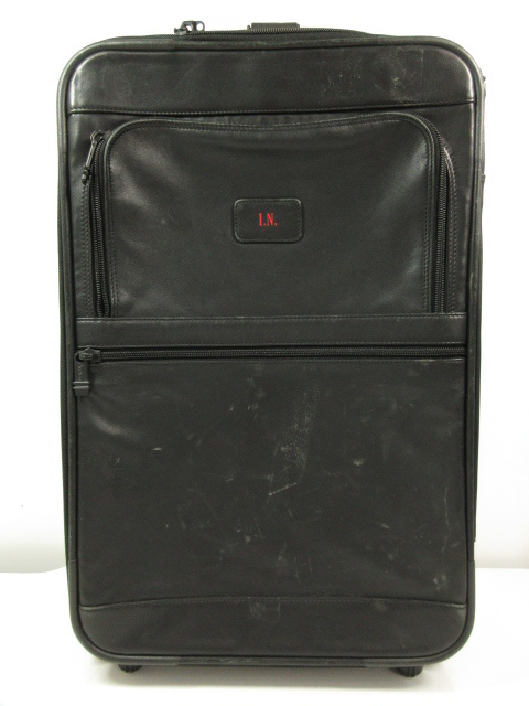 【トゥミ TUMI】 9265D3 20インチ レザー 2輪 スーツケース キャリーケース キャリーバッグ (メンズ/レディース) ブラック ★SC0101★【中古】