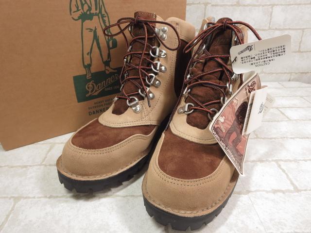 未使用 【ダナー Danner】32205X ダコタン ブーツ (メンズ) size8.5 紳士靴 ベージュ×ブラウン   ○MZ3278○【中古】