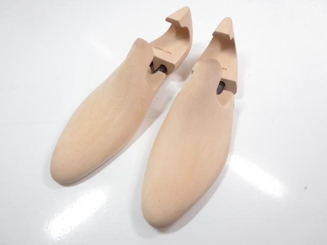 超美品 【ジョンロブ JOHN LOBB】シューツリー (メンズ) 木製 紳士靴 size7E    ◇ST350◇ 【中古】