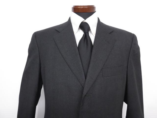 2639b8816ae96  ブルックスブラザーズ Brothers  織柄 ウール シングル スーツ (メンズ) チャコールグレー size38R ◇MS2678◇  中古   Brooks-スーツ