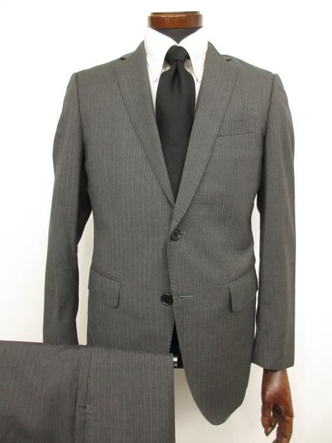【スーツカンパニー THE SUITS COMPANY】シングル2つボタン 2パンツ スーツ (メンズ) アンジェリコ生地使用 size170cm-6Drop  ★MS3124★【中古】