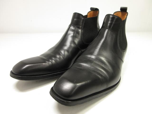超美品 【JMウエストン ジェイエムウエストン】 #457 サイドゴアブーツ 大人の高級紳士靴 (メンズ) ブラック size8E   超美品 【JMウエストン ジェイエムウエストン】 #457 サイドゴアブーツ 大人の高級紳士靴 (メンズ) ブラック size8E  ◎1MZ5197◎ 【中古】
