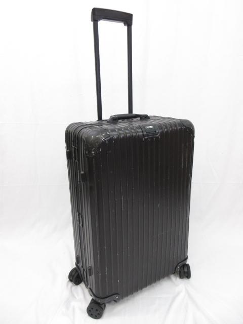 【リモワ RIMOWA】 92470015 トパーズ ステルス 4輪スーツケース Eタグ ブラック 78L 76cm マルチホイール (メンズ/レディース)●1SC0128● 【中古】