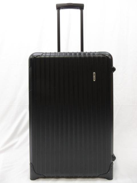 【リモワ RIMOWA】 2輪トローリーケース NO.6281 サルサ スーツケース (メンズ/レディース) ブラック ●1SC0127● 【中古】