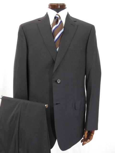 未使用 【ブリオーニ Brioni】 BRUNICO ブルニコ SUPER150's相当生地 2ボタン シングルスーツ (メンズ) チャコールグレー size56 ●3HR698 【中古】